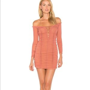 Majorelle Ruched Dress